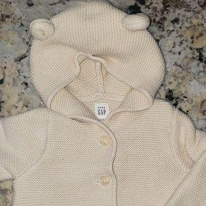Baby Gap Hooded Cardigan